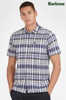 Barbour® Short Sleeve Linen Mix Shirt
