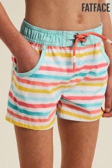 FatFace Multi Stripe Board Shorts