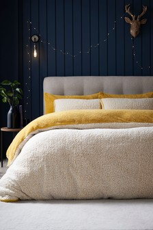 Snuggle Fleece Duvet Cover and Pillowcase Set