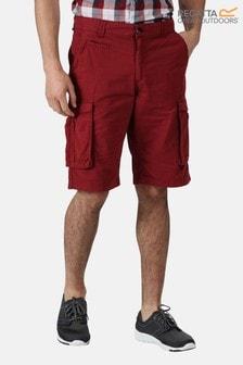 Regatta Red Shorebay Multi Pocket Shorts
