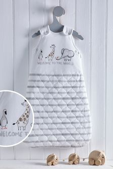Baby Animals 2.5 Tog Sleep Bag