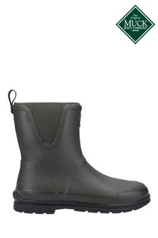 Muck Boots Green Originals Pull-On Mid Boots