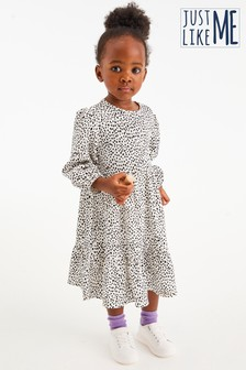Dalmation Print Dress (3mths-7yrs)