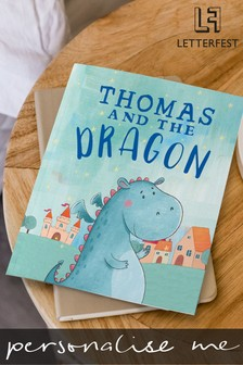 Personalised Dragon Book by Letterfest