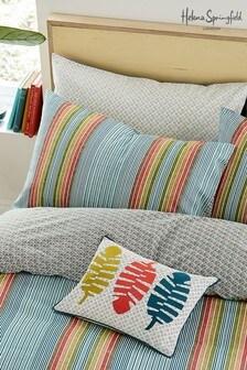 Helena Springfield Macaw Kipling Stripe Pillowcase