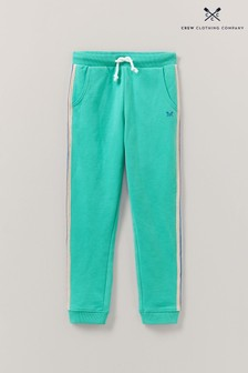 Crew Clothing Green Crew Side Stripe Joggers
