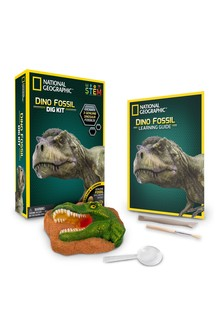 National Geographic Bundle Pack Dino Fossil Dig Kit / Build Your Own Volcano