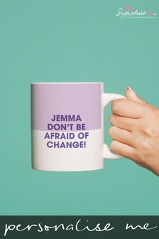 Personalised Inspirational Mug by Signature PG
