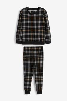 Cosy Check Pyjamas (3-16yrs)