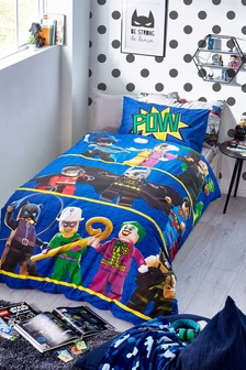 LEGO® DC Superheroes Batman® Reversible Duvet Cover and Pillowcase Set