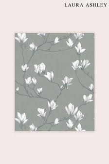 Laura Ashley Magnolia Grove Wallpaper Sample