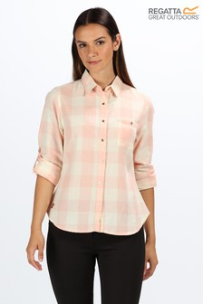 Regatta Pink Merrial Long Sleeve Shirt
