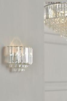 Chrome Vienna Crystal Wall Light