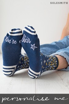 You're A Star Patterned Socks by Solesmith