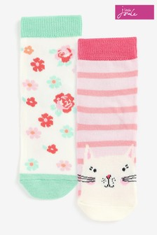 Joules Neat Feet Character Socks Two Pack