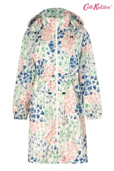 Cath Kidston Painted Bluebell Long Raincoat