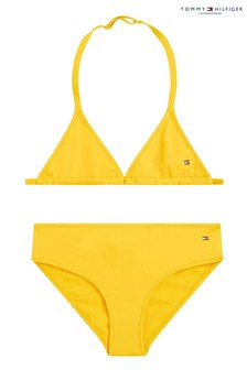 Tommy Hilfiger Yellow Triangle Bikini Set