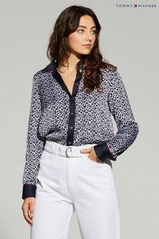 Tommy Hilfiger Blue Icon Tilda Blouse