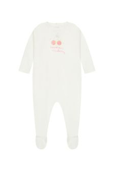 Bonpoint Baby Cream Cotton Babygrows