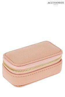 Accessorize Pink Mini Jewellery Box