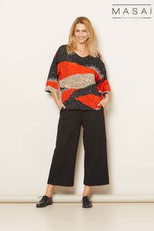 Masai Black Piri Trousers