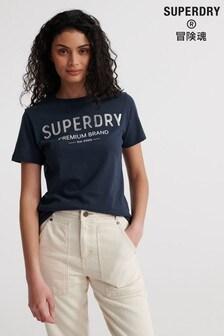 Superdry Premium Sequin T-Shirt
