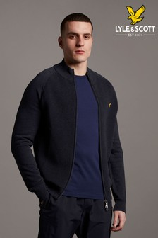 Lyle & Scott Zip Through Jumper