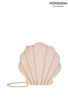 Monsoon Pink Livia Pearl Shell Bag