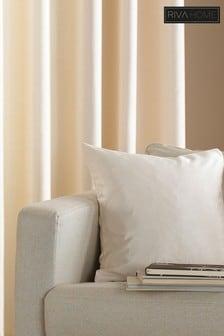 Riva Home Cream Fiji Faux Silk Cushion