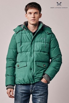 Crew Clothing Green Ambleworth Jacket