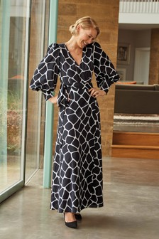 Emma Willis Animal Wrap Dress