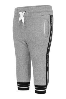 Baby Boys Grey Logo Trim Joggers