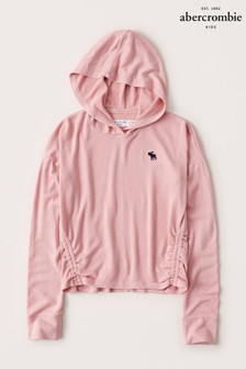 Abercrombie & Fitch Ruched Side Cosy Hoody