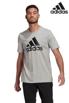 adidas Grey Badge Of Sport T-Shirt