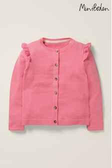 Boden Pink Everyday Cardigan