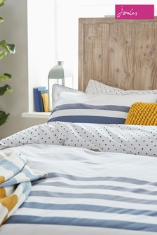 Joules Galley Grade Stripe Housewife Pillowcase