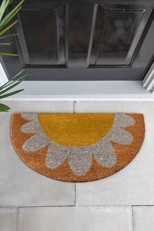 Daisy Glittery Doormat