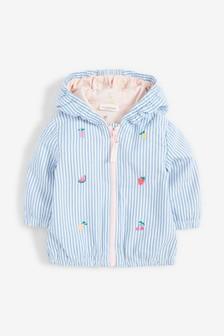 Stripe Fruit Embroidery Jacket (0mths-2yrs)