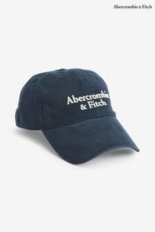 Abercrombie & Fitch Navy Logo Cap