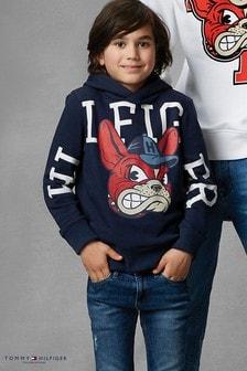Tommy Hilfiger Blue Mascot Hoody