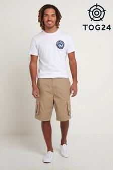 Tog 24 Cream Farrow Mens Cargo Shorts
