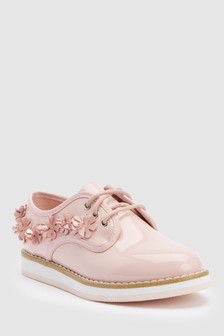 Lace-Up Flower Shoes (Older)