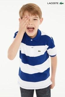 Lacoste® Stripe Polo 78129fe55182