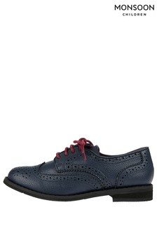 Monsoon Navy Boy Brogue