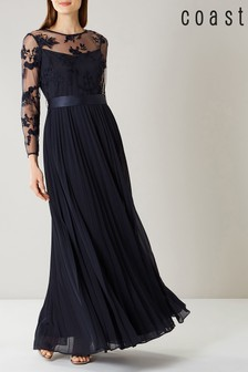Coast Navy Odetta Maxi Dress