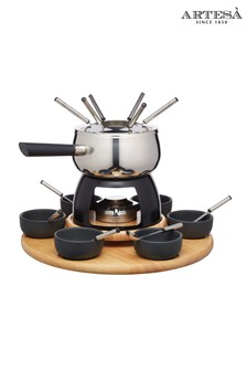Artesa Stainless Steel Six Person Fondue Set