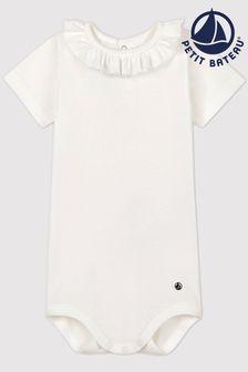 Petit Bateau White Bodysuit