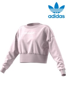 adidas Originals Pink Coeeze Sweat Top