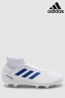 adidas White Virtuso Predator FG