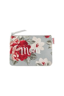 Cath Kidston® Blue New Rose Bloom Pouch